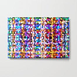 Christmas lights #society6 #decor #buyart Metal Print