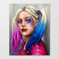 harley Canvas Prints featuring Harley by Lara