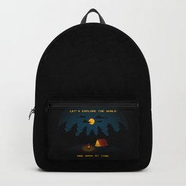 Let's Explore the World Backpack