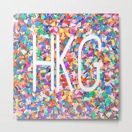 HKG Metal Print