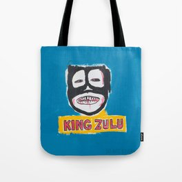 King Zulu Homage to Basquiat Tote Bag