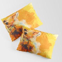 Blissful Light - Fox portrait Pillow Sham