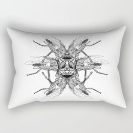 Diptera Rectangular Pillow
