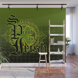 Strong,Proud and Irish Wall Mural