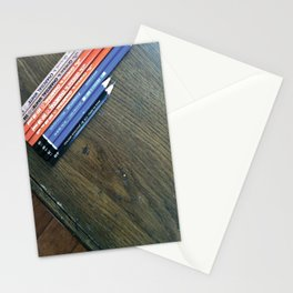 Art Pencils Stationery Cards