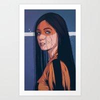 pain Art Prints featuring Pain by Conrado Salinas
