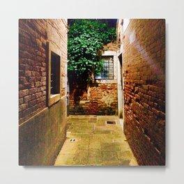 Dorsoduro Alley Metal Print