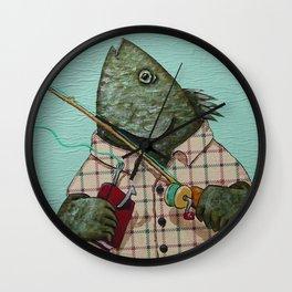 d'Bait Wall Clock