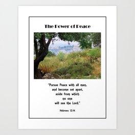 Power of Peace Art Print