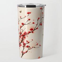 Oriental plum blossom in spring 005 Travel Mug