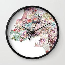 La Rochelle map Wall Clock