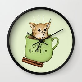 Chaihuahua Wall Clock