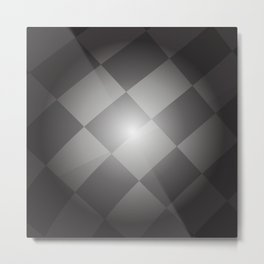 Racing flag Metal Print