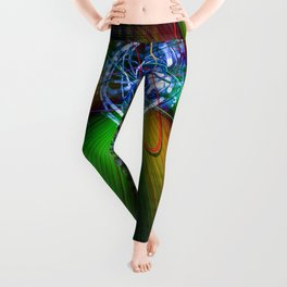 Creations in the color spectrum of the rainbow 2 Leggings