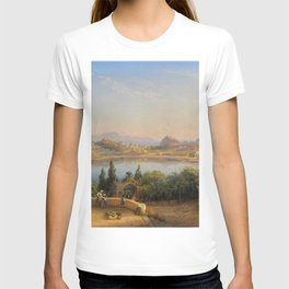 Port of Ischia, Italy by Eduard Agricola T-shirt