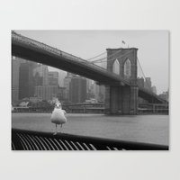 dumbo Canvas Prints featuring dumbo by Gray