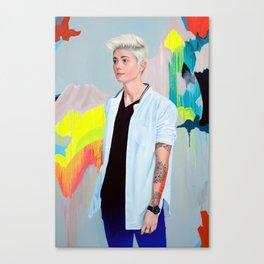 Heyman Canvas Print