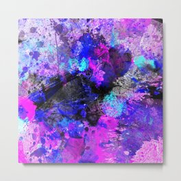 Velocity - Abstract Metal Print