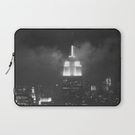 Gotham city in black and white Laptop Sleeve