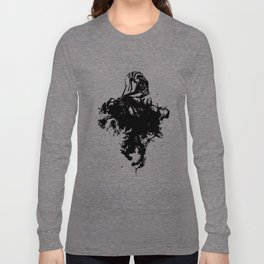 Darth Vader Inked  by Pentasticarts Long Sleeve T-shirt