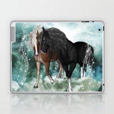 Wonderful couple horses Laptop & iPad Skin