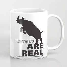 Unicorns Are Real 2 Coffee Mug