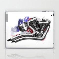Harley engine Laptop & iPad Skin