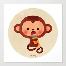 Monkey See Canvas Print