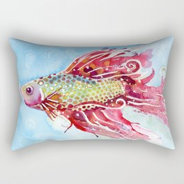 Fish Swim Rectangular Pillow