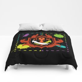 Splatoon - Game of Zones Comforters