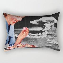 Treat or threat Rectangular Pillow