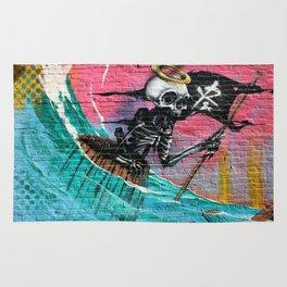 Sailing Skeleton  Rug