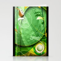 golf Stationery Cards featuring Golf Anyone? by Robin Curtiss