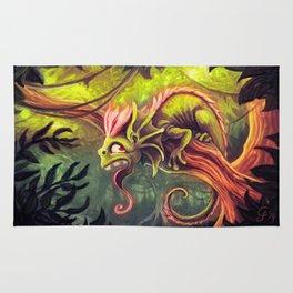 Majestic Rainforest Dweller Rug