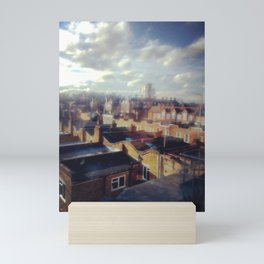 London roof top. Mini Art Print