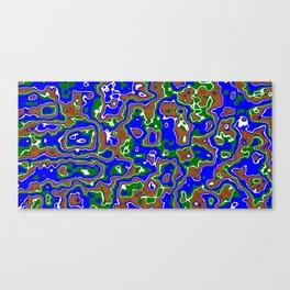 Liquid Earth Canvas Print