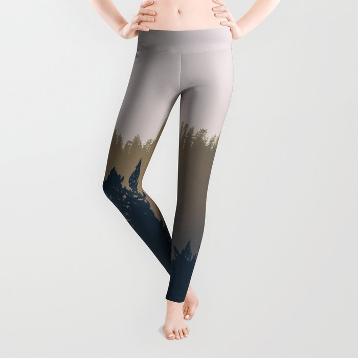 Woods Abstract Leggings