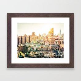 New York City Graffiti Framed Art Print