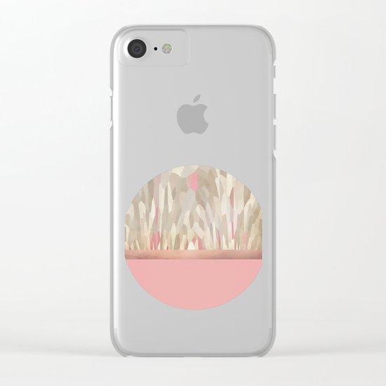 La Vie en rose Clear iPhone Case