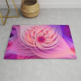 Pink Flower  | In the Cosmos Rug