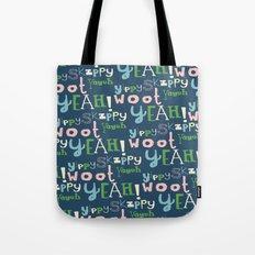 Yahoo Blue Tote Bag