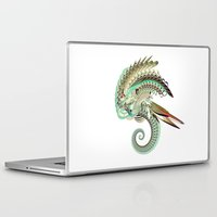 fig Laptop & iPad Skins featuring Fig. 36 by Andre Villanueva