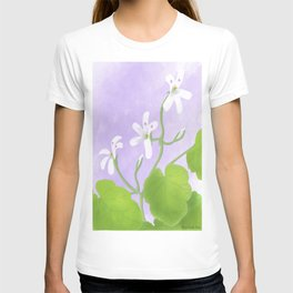 A watercolour painting of Pelargonium odoratissimum T-shirt