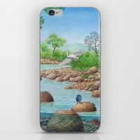 river iPhone & iPod Skins featuring  river  by Amy Fan