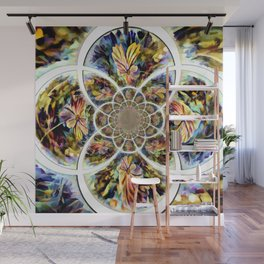 Mysterious Floral Wall Mural