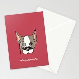 Ollie, Dapperdog says Allo Stationery Cards