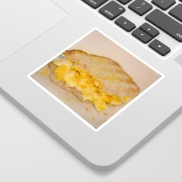 Egg salad with Oatmeal Toast Sticker