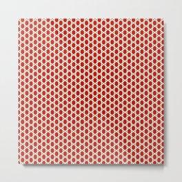 Beautiful Pattern #24 Arabic Geometry Pattern Zellige Metal Print