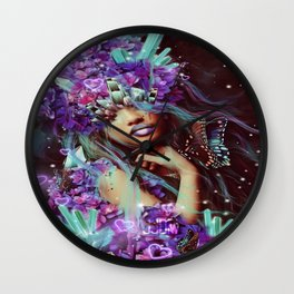 Growth of Intuition Valentines Edition Wall Clock