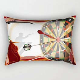 Darts Rectangular Pillow